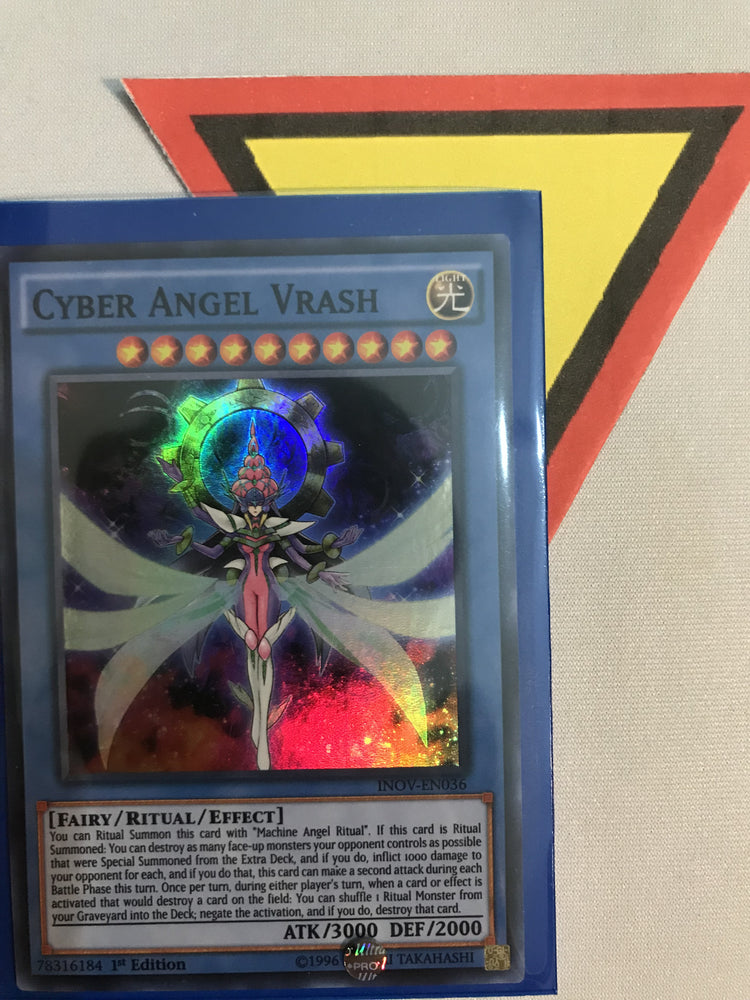 CYBER ANGEL VRASH / SUPER - INOV-EN036 - 1ST