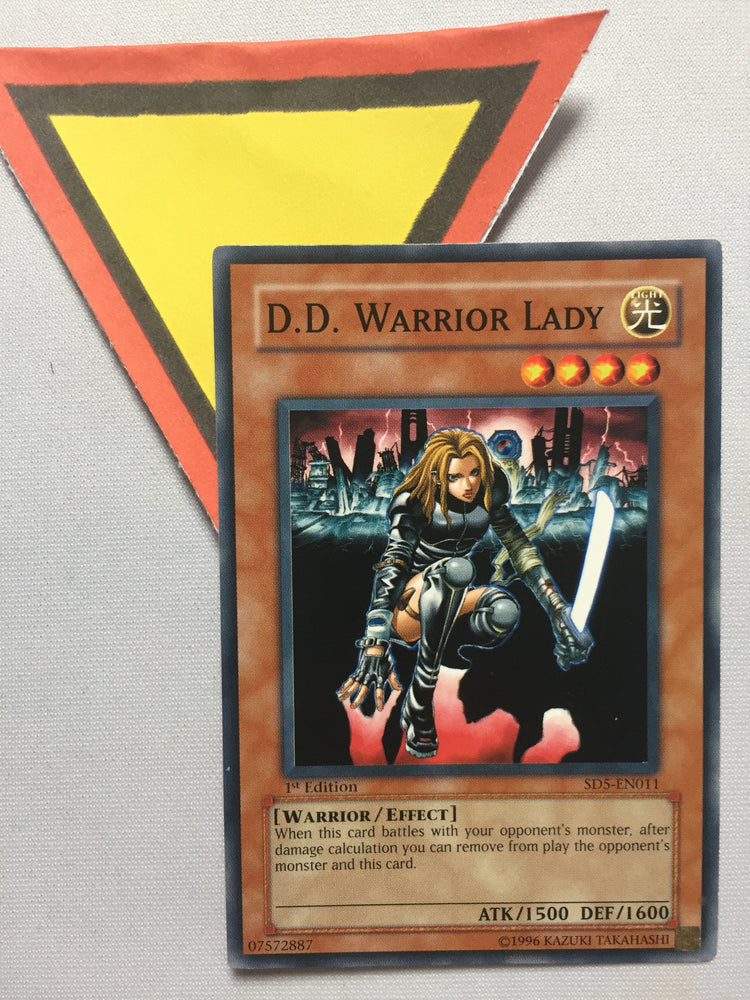 D.D. WARRIOR LADY - SD5-EN011 - 1ST