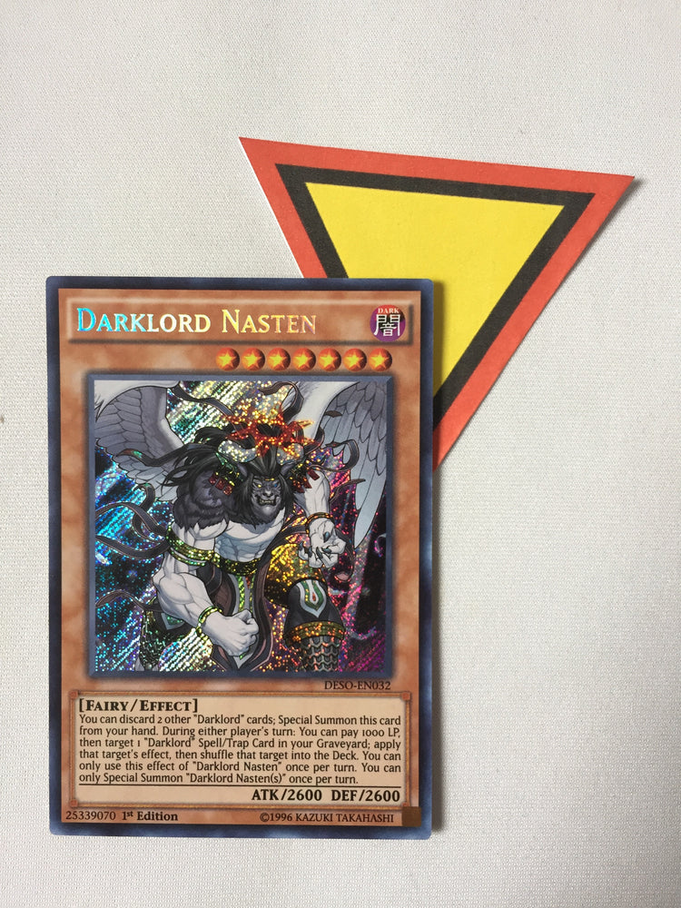 DARKLORD NASTEN - SECRET - DESO-EN032 - 1ST