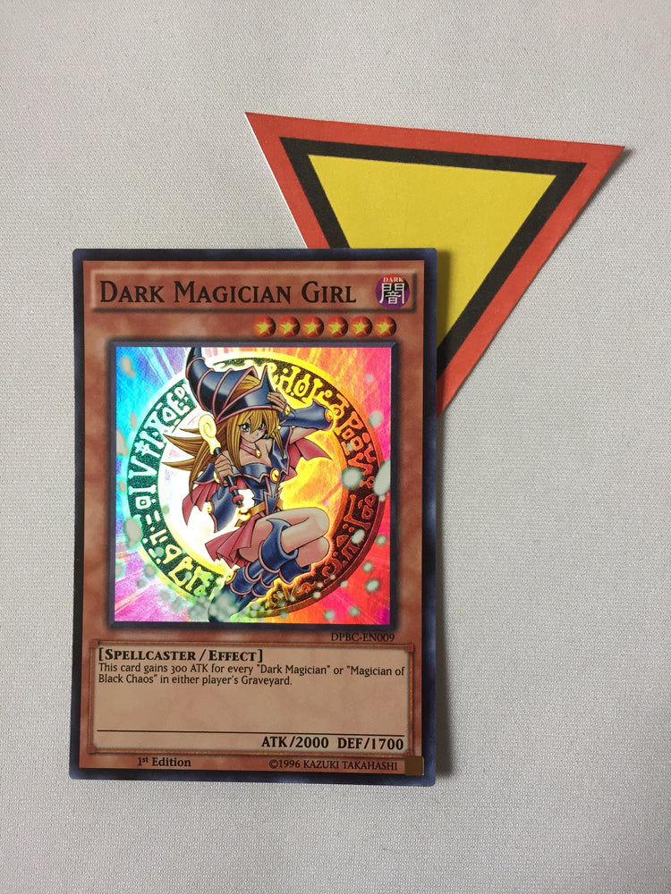DARK MAGICIAN GIRL - SUPER - DPBC-EN009 - 1ST