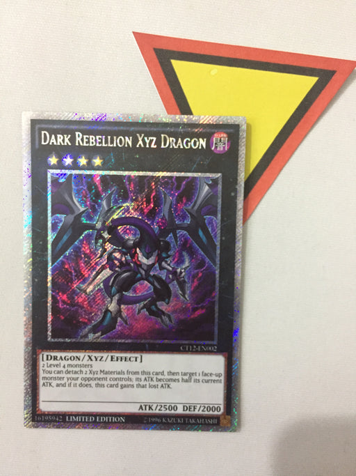 Dark Rebellion Xyz Dragon / Platinum Secret - CT12-EN002 - Lim