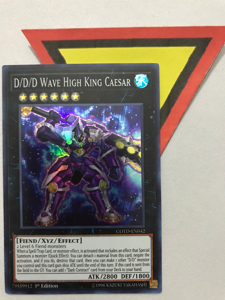 D/D/D WAVE HIGH KING CAESAR / SUPER - COTD-EN042 - 1ST