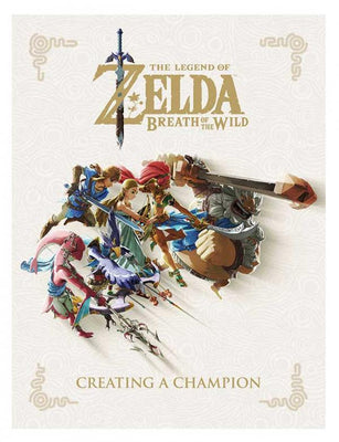 Zelda: Breath of the Wild - Creating a Champion (Sealed Hardcover)