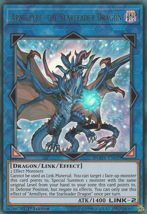 Armillyre, the Starleader Dragon / Ultra - DUOV-EN029 - 1st