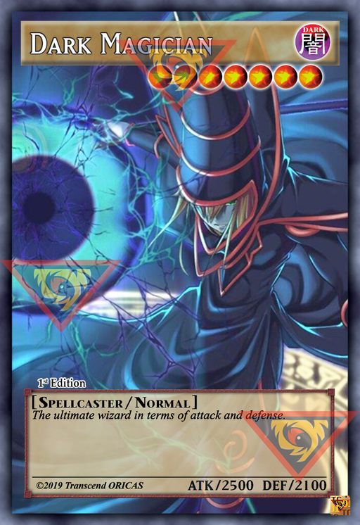 ORICA - DARK MAGICIAN 02 - FULL ART