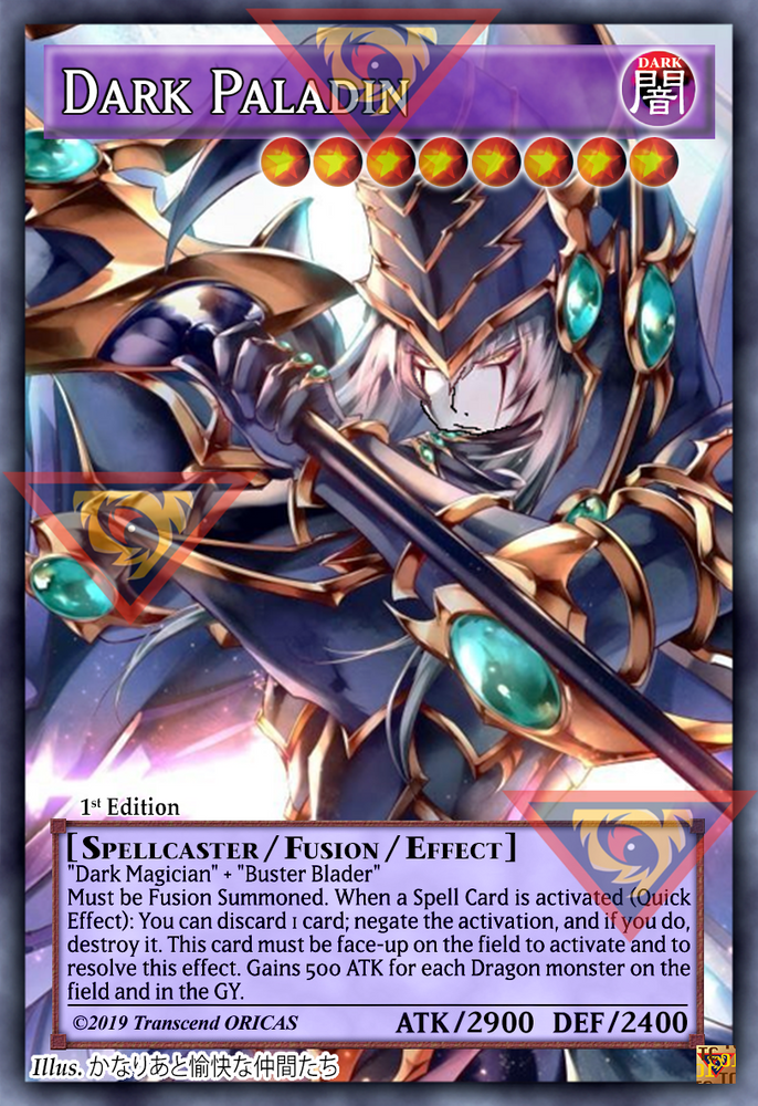 ORICA - Dark Paladin 01 - Full Art
