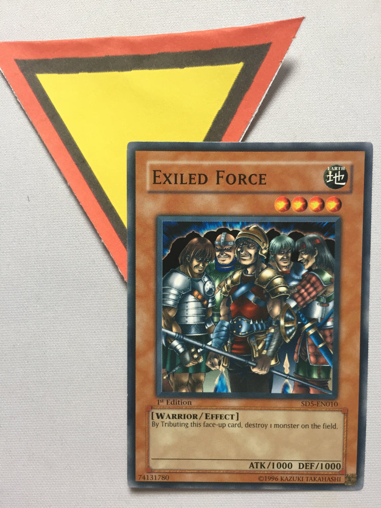 EXILED FORCE - COMMON - SD5-EN010 - 1ST