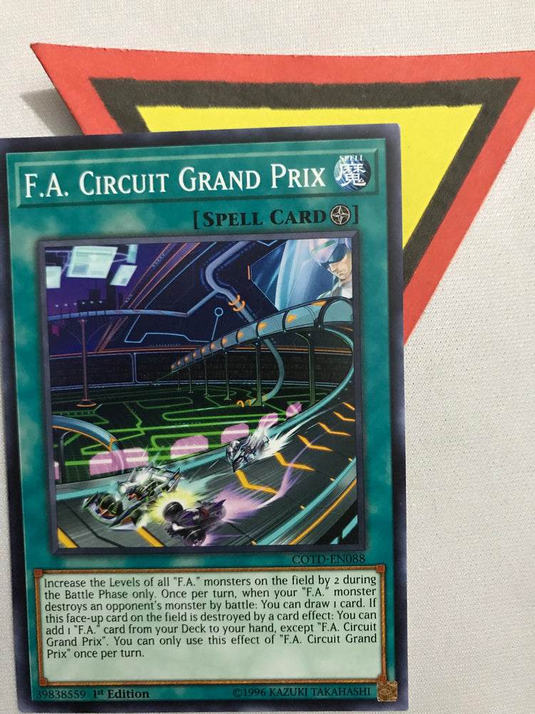 F.A. CIRCUIT GRAND PRIX / COMMON - Various - 1ST