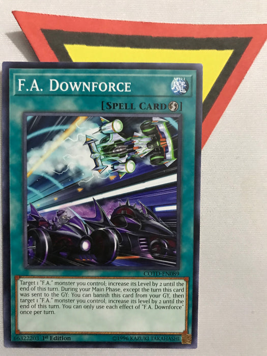 F.A. DOWNFORCE / COMMON - Various - 1ST