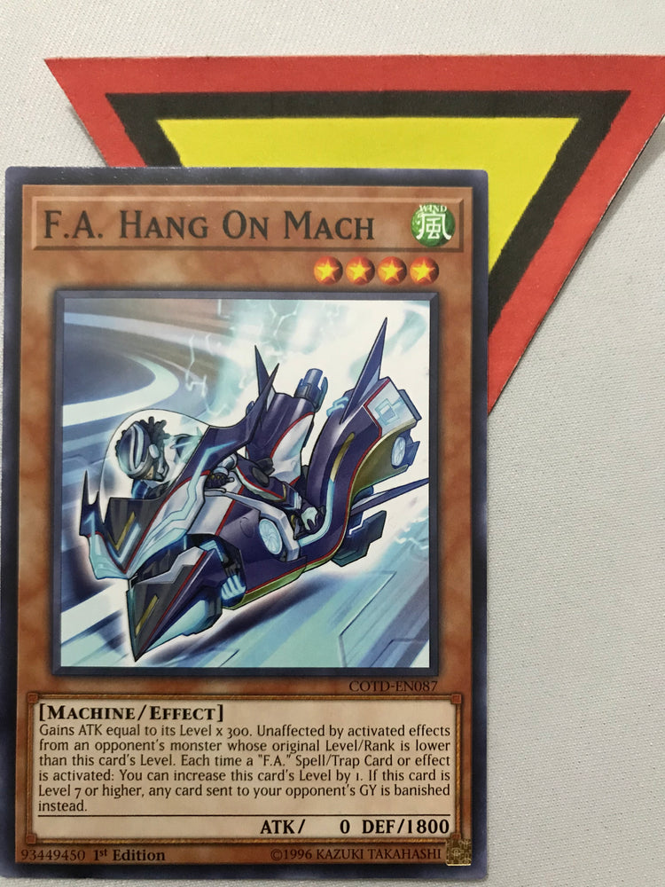 F.A. HANG ON MACH - COMMON - COTD-EN087