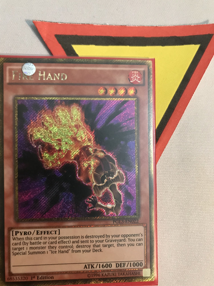 FIRE HAND - GOLD SECRET - PGL3-EN022 - 1ST