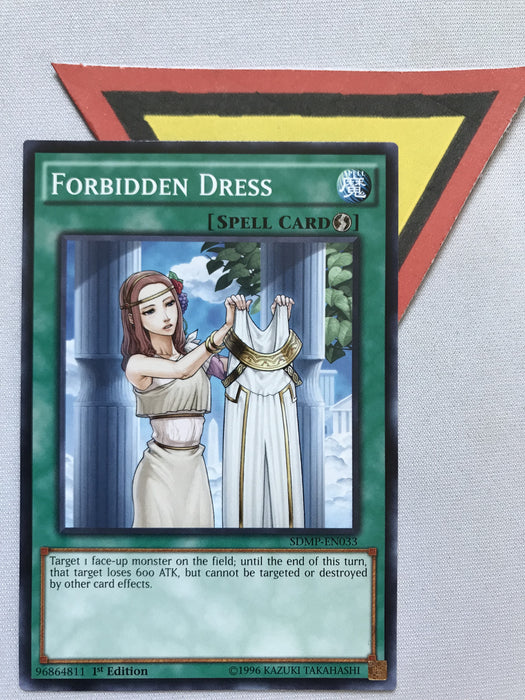 FORBIDDEN DRESS - SDMP-EN033 - 1ST