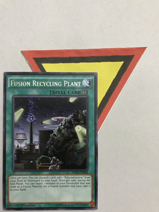 FUSION RECYCLING PLANT - RARE - RATE-EN000 - 1ST