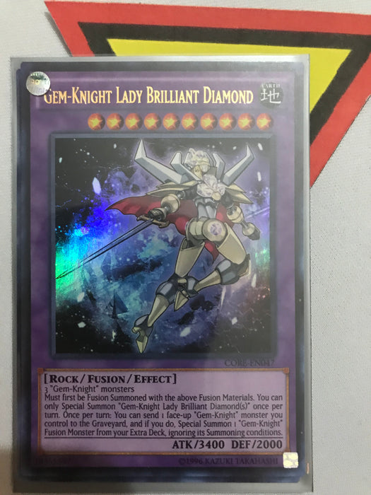 GEM-KNIGHT LADY BRILLIANT DIAMOND - ULTRA - CORE-EN047