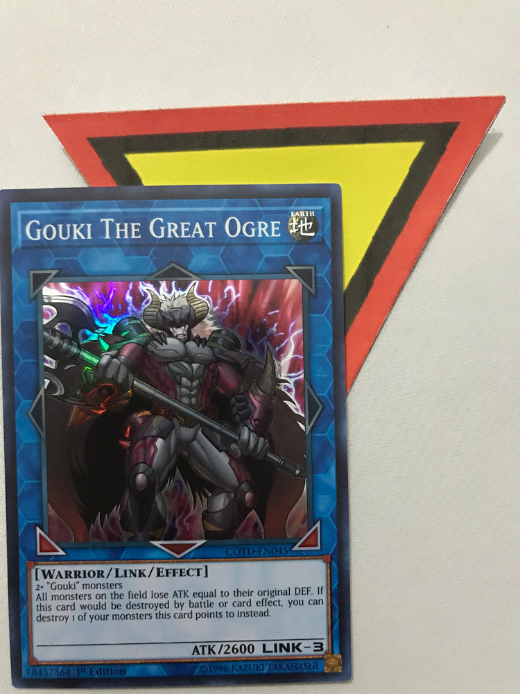 GOUKI THE GREAT OGRE / SUPER - COTD-EN045