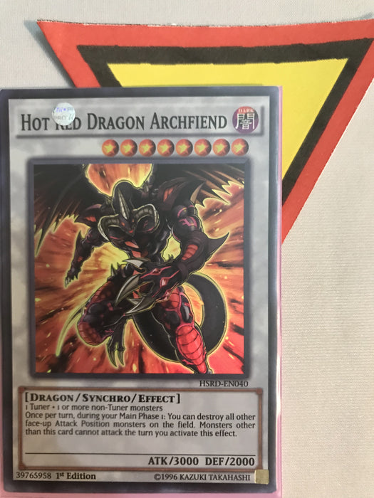 HOT RED DRAGON ARCHFIEND - SUPER - HSRD-EN040 - 1ST
