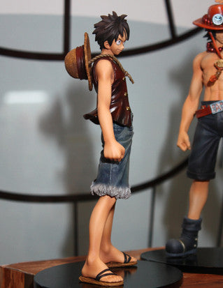 One Piece Monkey D Luffy And Brother Ace Figure