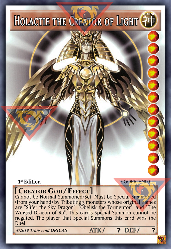 ORICA - Holactie the Creator of Light 01 - Full Art