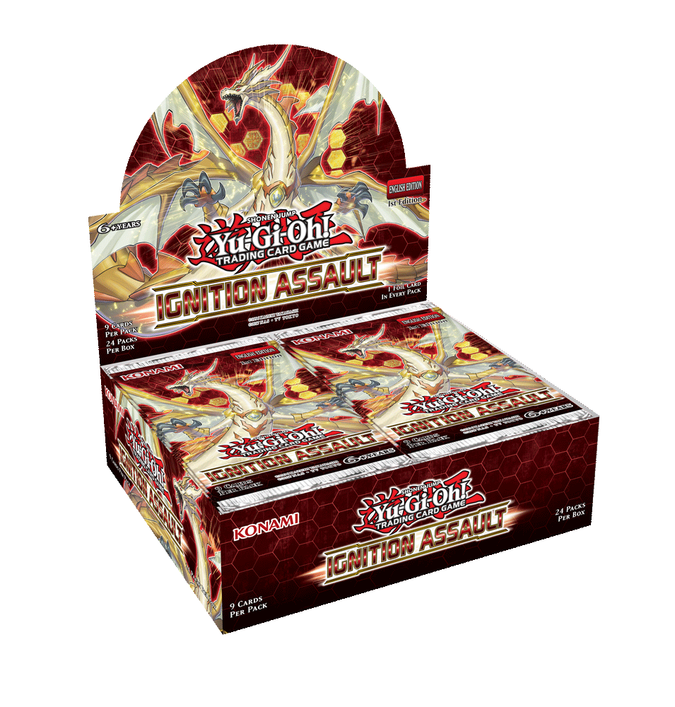 Pre-order - YUGIOH - IGNITION ASSAULT BOOSTER BOX (JAN 30)