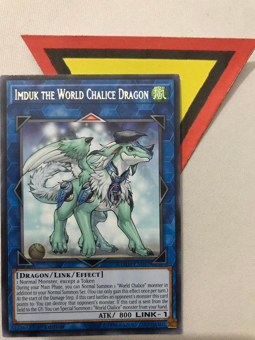 IMDUK THE WORLD CHALICE DRAGON - RARE - COTD-EN047