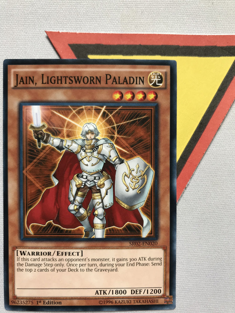 JAIN, LIGHTSWORN PALADIN - COMMON - SR02-EN020 - 1ST