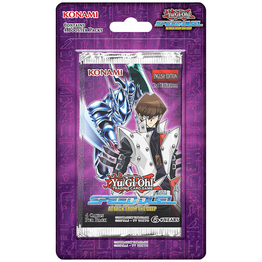 4 Booster Packs (Blisters): Speed Duel Attack from The Deep