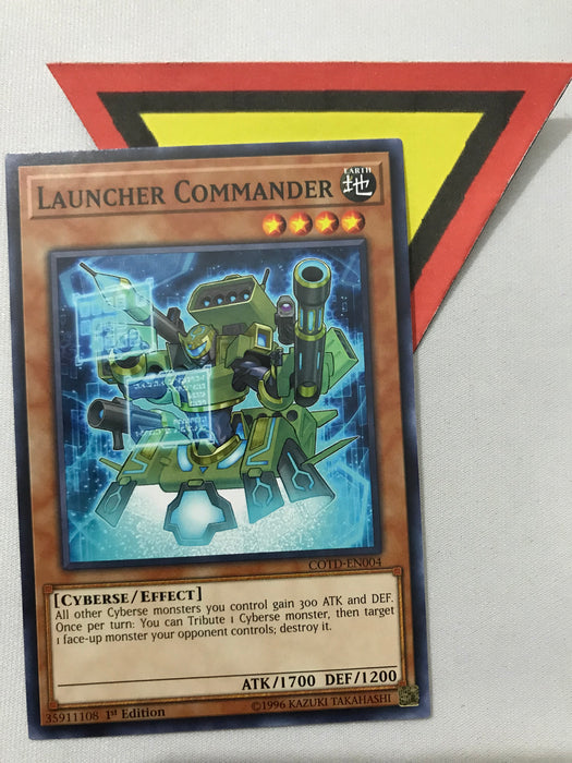 LAUNCHER COMMANDER - COMMON - COTD-EN004