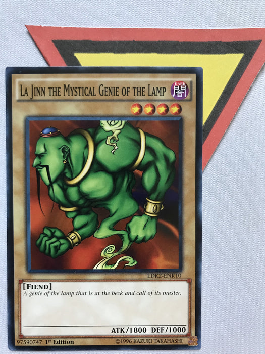 LA JINN THE MYSTICAL GENIE OF THE LAMP - COMMON - LDK2-ENK10 - 1ST