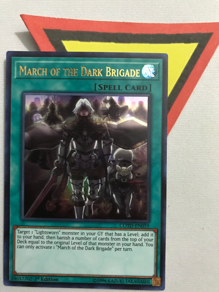 MARCH OF THE DARK BRIGADE - ULTRA - COTD-EN059 - 1ST