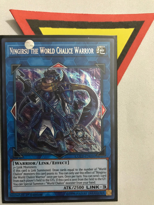Ningirsu the World Chalice Warrior - Secret - COTD-EN050 - 1st