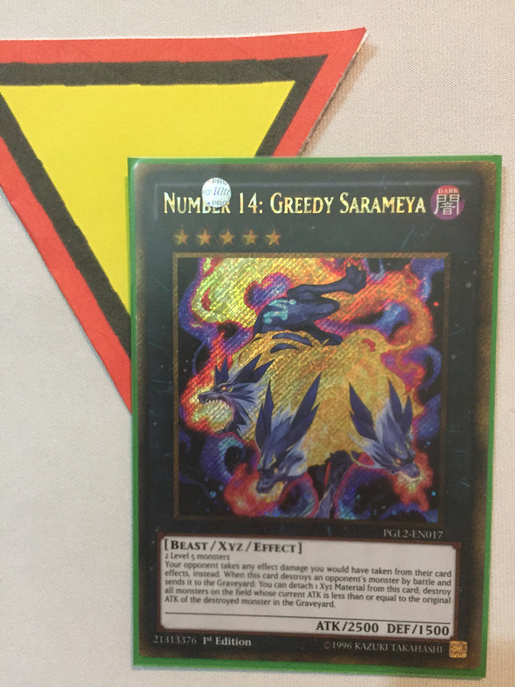 Number 14: Greedy Sarameya / Gold Secret - PGL2-EN017 - 1st