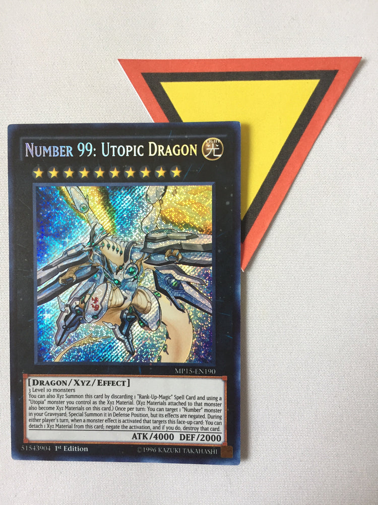 Number 99 Utopic Dragon - SECRET - MP15-EN190 - 1ST