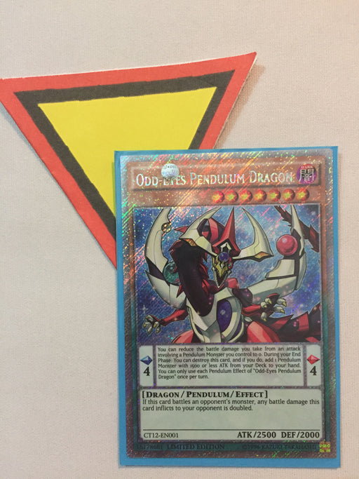 Odd-Eyes Pendulum Dragon / Platinum Secret - CT12-EN001 - Lim