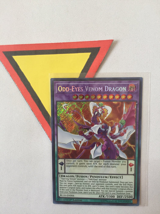 Odd-Eyes Venom Dragon / Secret - BLLR-EN006 - 1st