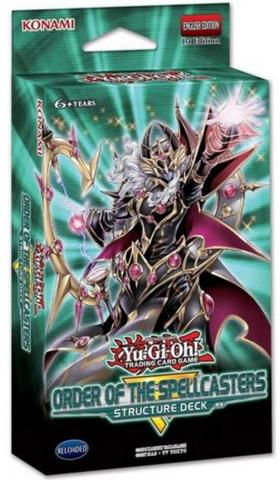 Structure Deck: Order of the Spellcasters (Free Shipping CA)