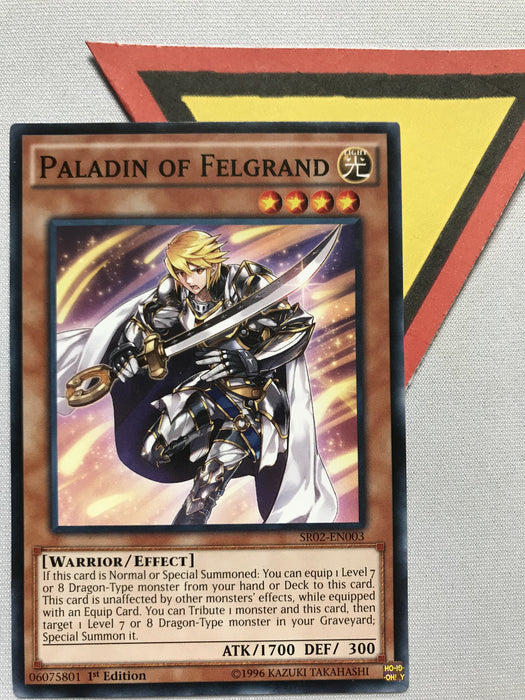 PALADIN OF FELGRAND - COMMON - SR02-EN003 - 1ST