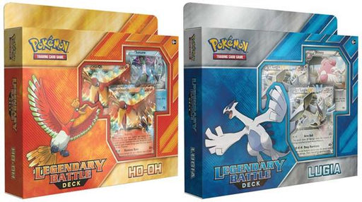 Legendary Battle Deck: Ho-Oh & Lugia