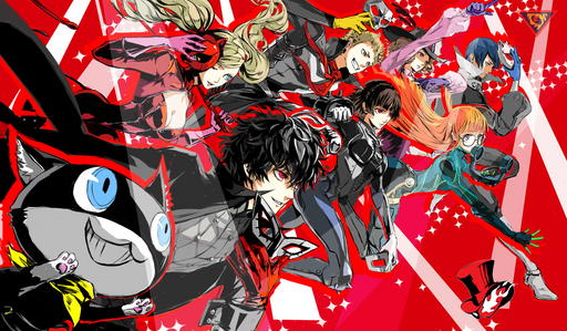 Playmat / Mouse Pad: Persona 5 01 [FREE SHIP IN USA]