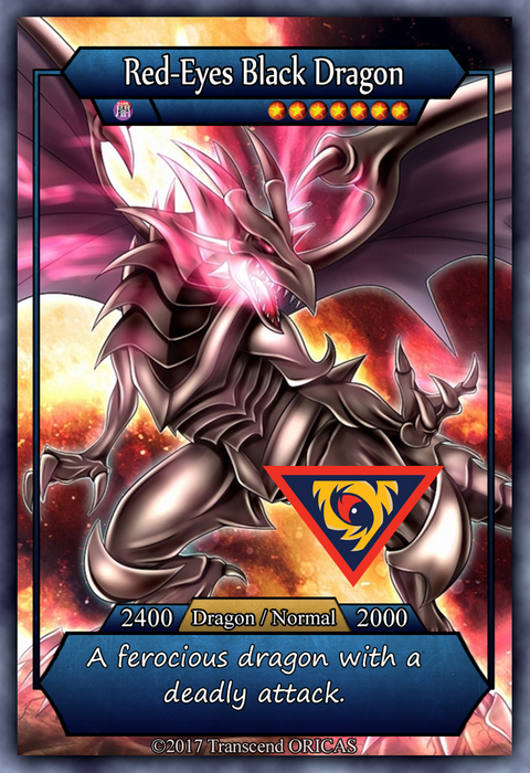 ORICA - Red-Eyes B. Dragon 02 - Full Art