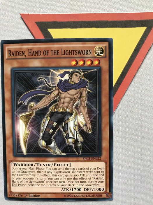 RAIDEN, HAND OF THE LIGHTSWORN - COMMON - SR02-EN022 - 1ST