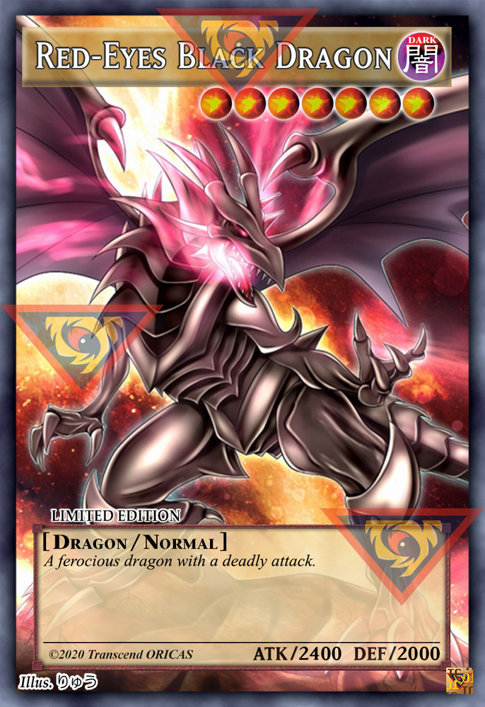 ORICA - Red-Eyes Black Dragon 02 - Full Art