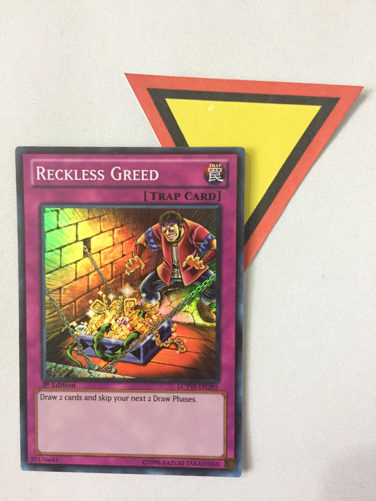 RECKLESS GREED - SUPER - LCYW-EN285 - 1ST ED