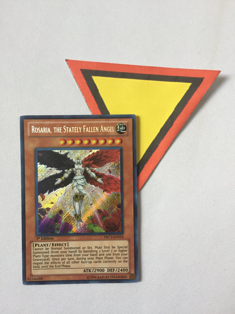 Rosaria, the Stately Fallen Angel / Secret - PRC1-EN016 - 1st