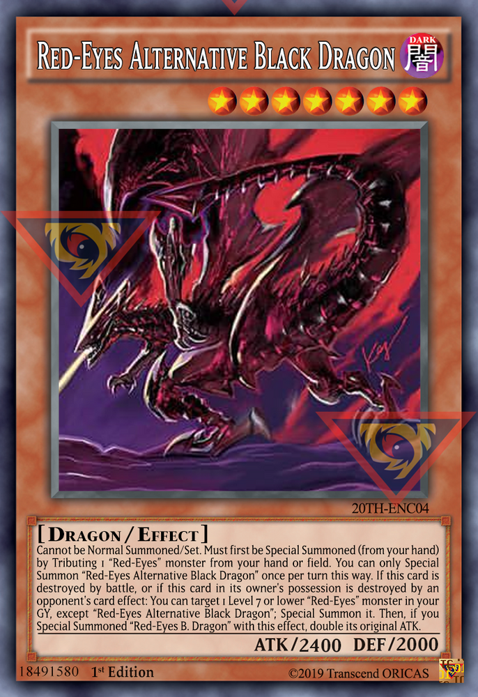 ORICA - Red-Eyes Alternative Black Dragon