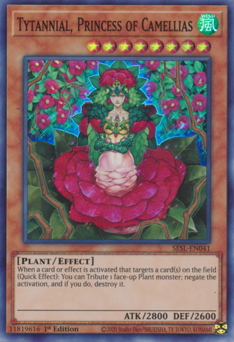 Tytannial, Princess of Camellias / Super - SESL-EN041 - 1st