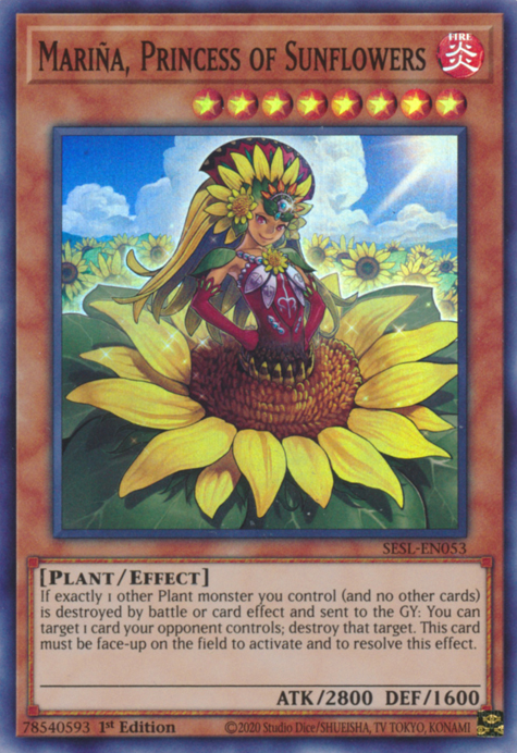 Mariña, Princess of Sunflowers / Super - SESL-EN053 - 1st
