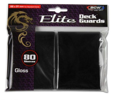 BCW ELITE DECK GUARDS GLOSSY SLEEVES