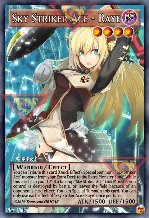 ORICA - Sky Striker Ace - Raye - Full Art