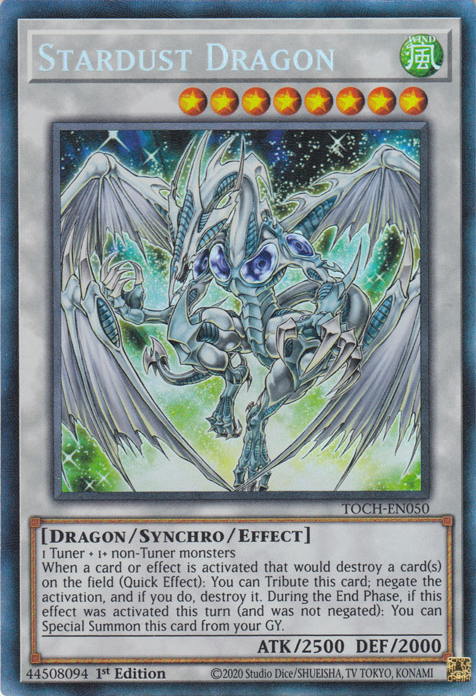 Stardust Dragon / Rare - TOCH-EN050 - Unlimited