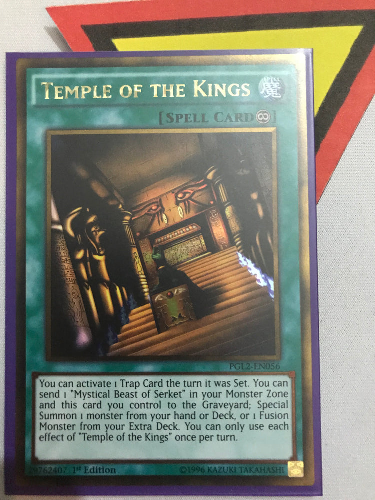 Temple of the Kings / Gold - PGL2-EN056 - 1st